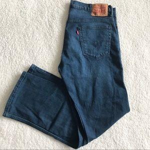 Levis 569 Mens W 34 L 32 Denim Straight Jeans